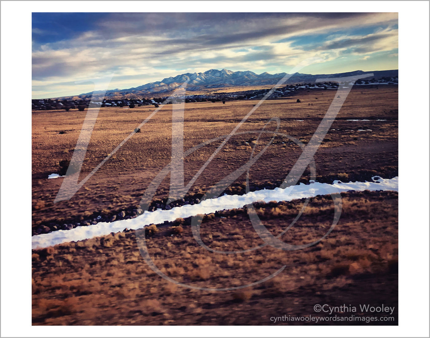 Mirror to the Sky - New Mexico: Print